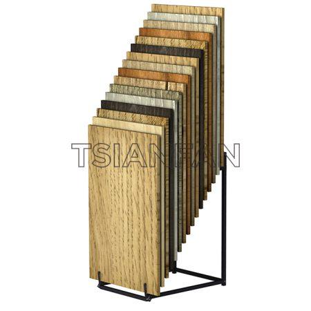 Metal Wood Flooring Display Stands Showroom Design Ideas ME18