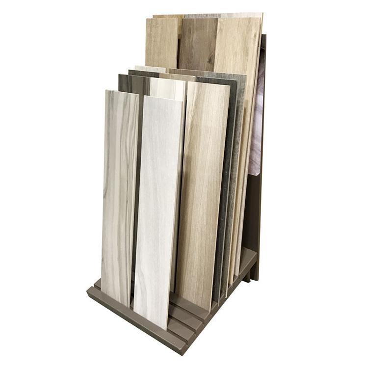 Hardwood Floor Countertop Display Rack