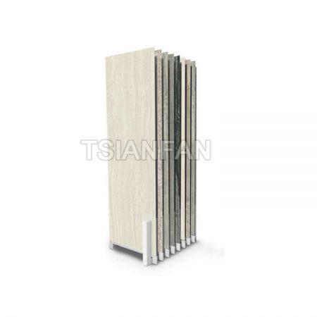 Hot Sale Wooden Floor Sliding Display Stand WC21111